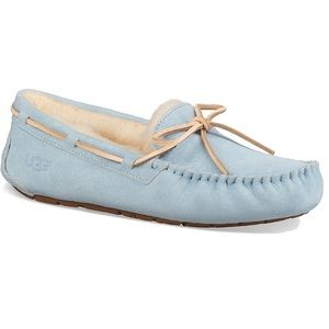 NIB UGG DAKOTA SLIPPERS LIGHT BLUE sz 9
